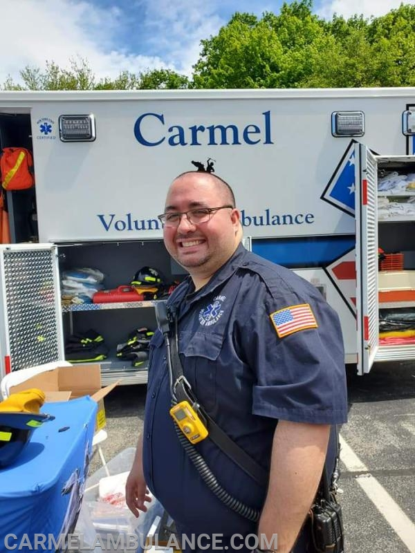 Lt. Priolo at Kids' Day
